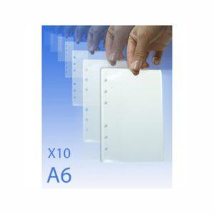 10 FEUILLES PLASTIFIEES POUR CLA6