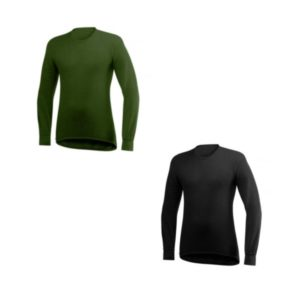 T-shirt manche longue Col rond 200 gr t - Woolpower Ulfrotté-merinos