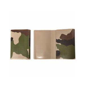 Etui carte et permis camouflage