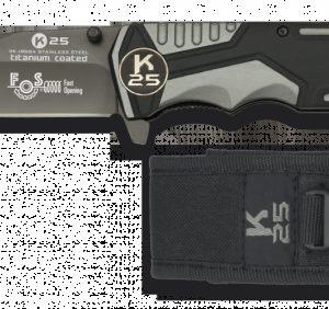 Couteau RUI Sécurité Gris/Noir. Lame 9.4 cm 19654