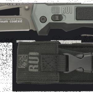 Couteau pliant RUI. Noir. Lame: 9.2 cm 19593