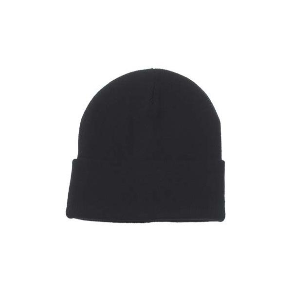 bonnet, noir, maille fine, acrylique