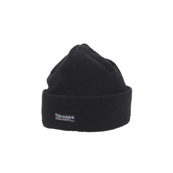 bonnet polaire, noir, doublure thinsulate