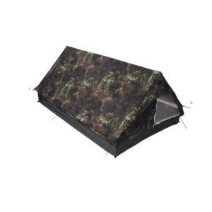 """Tente """"Minipack"""", 2 personnes, BW camo, 213x137x97cm"""