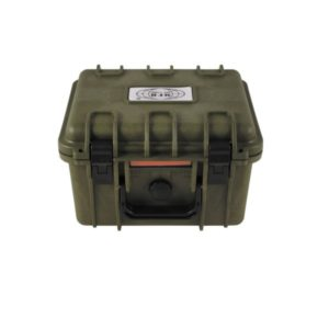 boîte plastique, imperméable, 26,7x23,9x17,6 cm, kaki