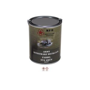 Pot de peinture NVA VERT, mat, 1 litre