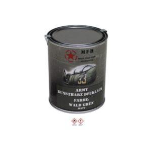 Pot de peinture FORET VERT, mat, 1 l