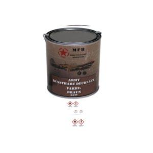 Pot de peinture BRUN 1L