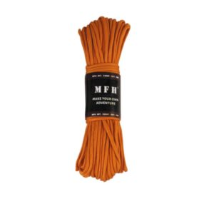 corde de parachute, orange, 100 FT, nylon