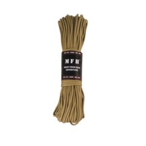 corde de parachute, coyote, 100 FT, nylon