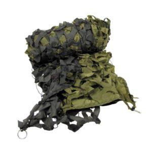 filet camouflage, kaki, neuf 2X3