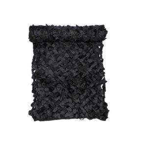 """filet camouflage, 2x3m, """"Basic"""", noir, avec sac de PVC"""