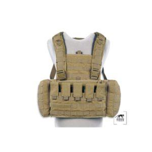 TT CHEST RIG MKII M4 - BRELAGE / PORTE PLAQUE - M16/M4 - SABLE
