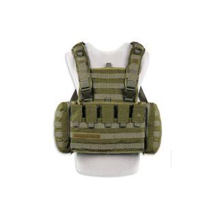 TT CHEST RIG MKII M4 - BRELAGE / PORTE PLAQUE - M16/M4 - OD GREEN