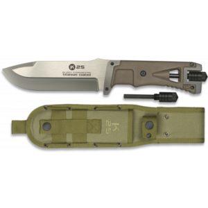 Couteau tactique coyote. Silex. SFL 14.5 32071 RUI K 25