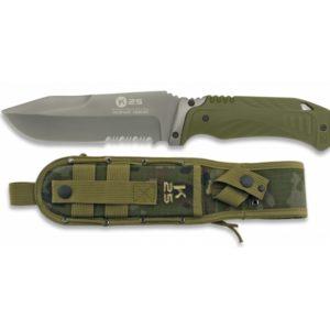Couteau tactique vet. Scie. Lame 12.7 cm RUI K 25 32073