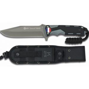 Couteau Gris/noir. Lame 13.5 cm RUI K 25 32117 FRANCE