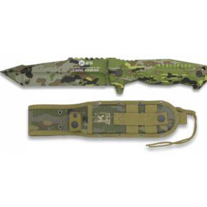 Couteau K25 SPCB Camo. Titane. Lame 14 cm RUI K 25 32166