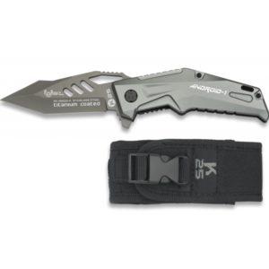 Couteau pliant K25 ANDROID. Titane. Lame: 8.7cm RUI 19933