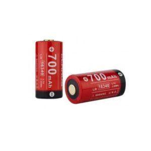 Batterie rechargeable pour lampe tactique XT1C / RS16 CR 123