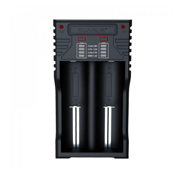 Chargeur pour 2 batteries rechargeables