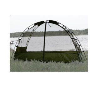 Moustiquaire tente dôme avec piquets