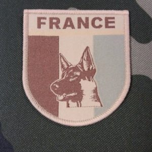 OPEX-PATCH FRANCE- CYNO -K9-BASSE VISIBILITE-132 BCAT TAN