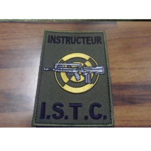 PATCH BREVET INSTRUCTEUR ISTC FORMAT FELIN
