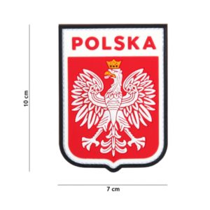 PATCH 3D PVC POLSKA SHIELD