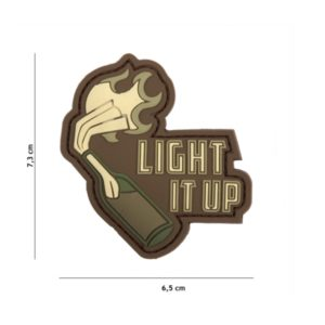 PATCH 3D PVC LIGHT IT UP WOODLAND