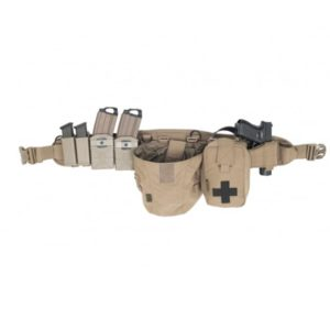 Elite Ops Enhanced PLB Shooter Belt - Coyote Tan Warroir Assault system DROITIER