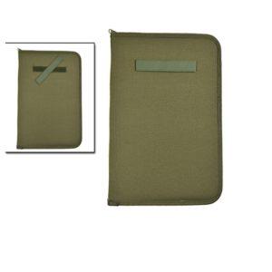 Porte document A4 mil tec Kaki 15975001