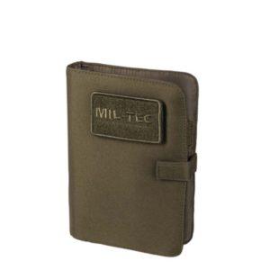 Tactical note book mil tec kaki 15984001