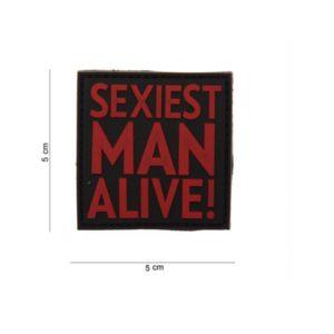 """PATCH PVC """" SEXIEST MAN ALIVE """""""