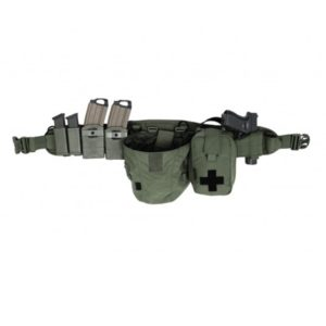 ELITE OPS ENHANCED PLB SHOOTER BELT - OD GREEN WARRIOR ASSAULT SYSTEM GAUCHER