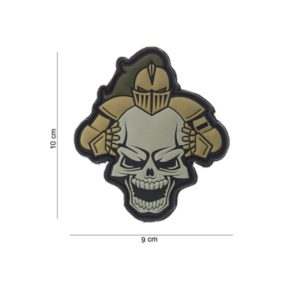 "PATCH 3D PVC "" KNIGHT "" SABLE"