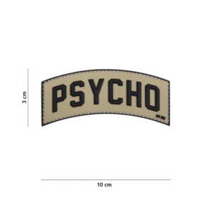 PATCH 3D PVC PSYCHO VERT