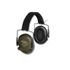 Casque anti-bruit Electronique mil tec noir 16243001