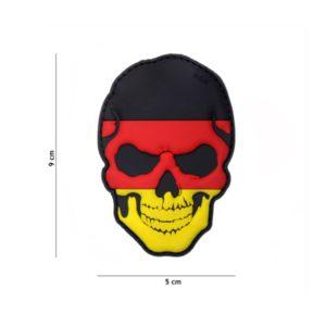 PATCH 3D PVC SKULL GERMANY