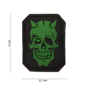 "PATCH 3D PVC "" DEVIL SKULL """