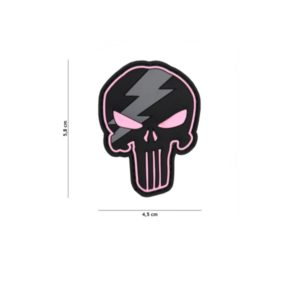PATCH 3D PVC PUNISHER THUNDER ROSE