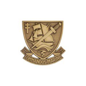 Insigne de beret commando marine