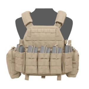 DCS DA 5.56mm Plate Carrier - Coyote Tan