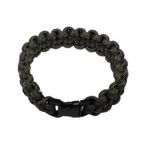 """bracelet, """"Paracord"""" , kaki, largeur 1,9 cm"""