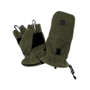 gants polaires, kaki