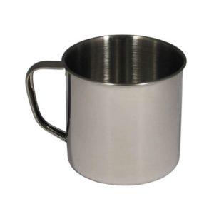 tasse, inox, 9,5 X 9 cm, 500 ml