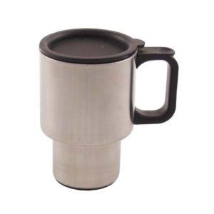 mug, isotherme, a double paroi, 400 ml, poignee plastique