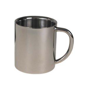 tasse, inox, 250 ml, à double paroi