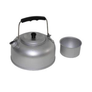 bouilloire avec passoire, aluminium, 0,95 l