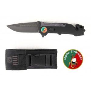 Couteau de poche RUI 19592 Légion Etrangère noir
